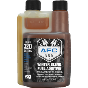 AFC-805 Diesel Fuel Catalyst & Tank Cleaning Additive - Winter Blend - 8 oz bottle