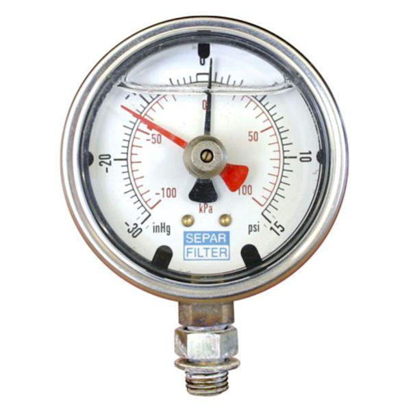30652-S Compound Pressure & Vacuum Gauge