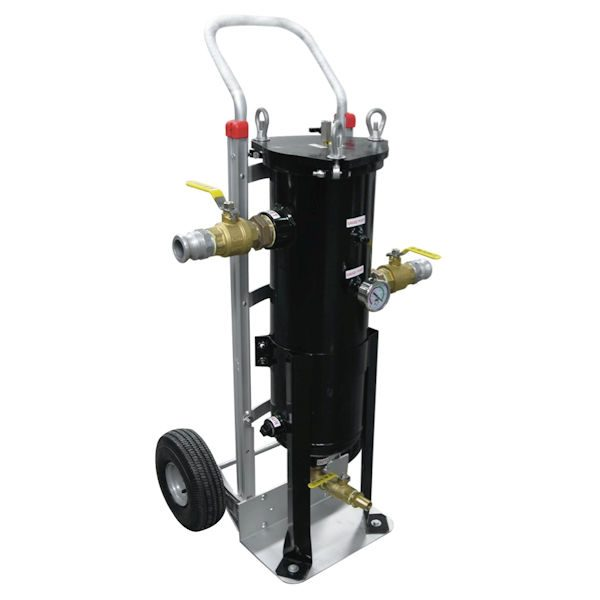 PF-30HD Bag Filter Vessel with Cart