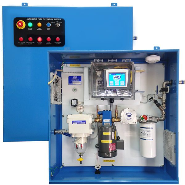 STS 7004 Series Advanced Automation Enclosed Tank Cleaning