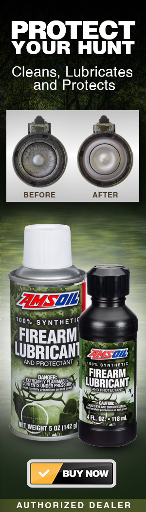 AMSOIL Synthetic Firearms Lubricants
