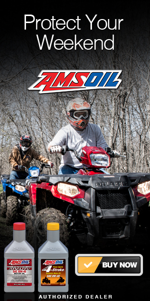 AMSOIL Synthetic Motor Oils for ATV & UTV Vehicles