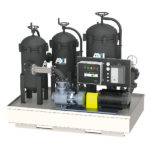 MTC HC-300 – Skid Mounted Mobile Fuel Maintenance System – up to 300 GPM – 18,000 GPH