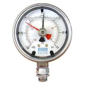Separ Pressure/Vaccum Gauge